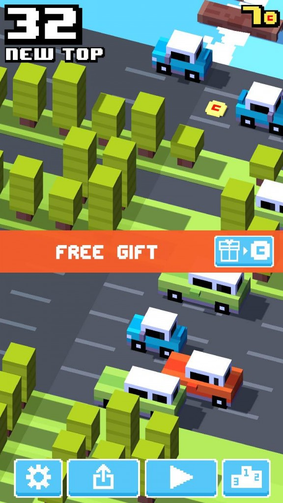 crossy_road_free_gift
