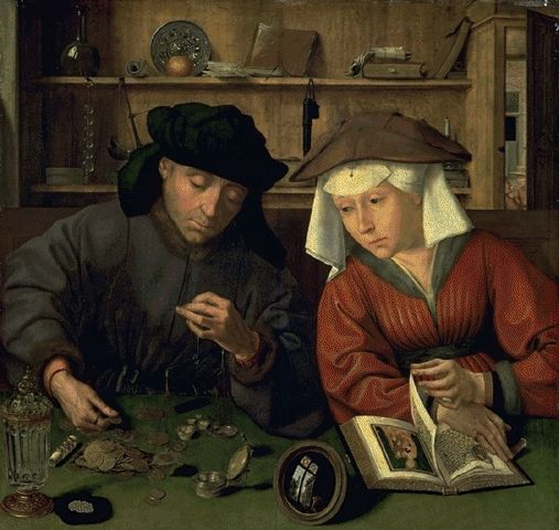 Quentin_MetsysXXThe_Banker_and_his_Wife_1514